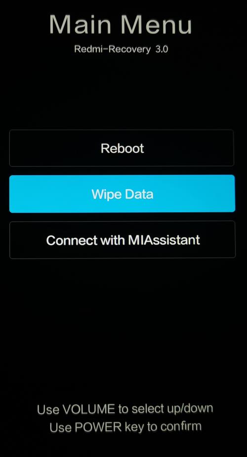 Как выйти из рекавери меню Xiaomi или Redmi?